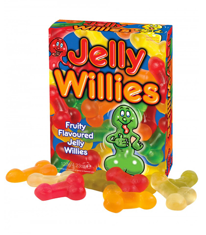 JELLY WILLIES - GUMENE BOMBONE