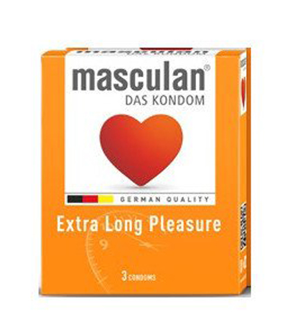 MASCULAN EXTRA LONG PLEASURE KONDOMI 3/1