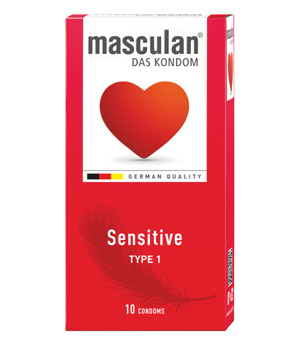 MASCULAN SENSITIVE KONDOM 10/1