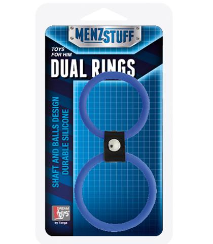 Dvostruki prsten za penis i testise