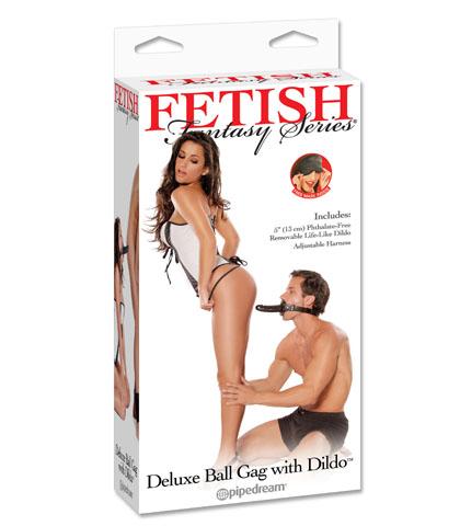 FETISH - BALL GAG SA DILDOM