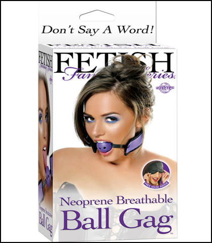 FF NEOPRENE BRETHABLE BALL GAG