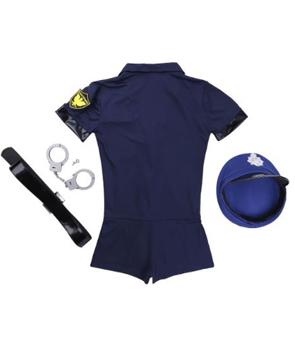Sexy bodi kostim policajke