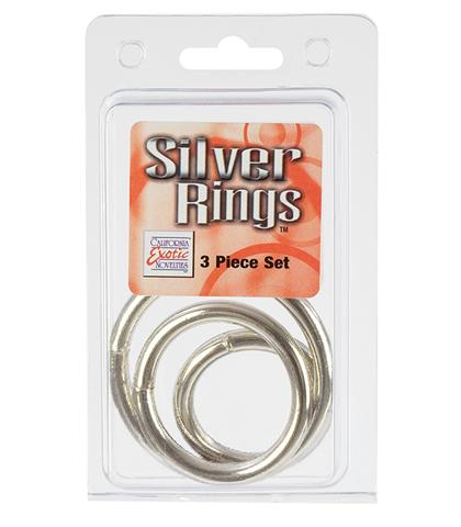 metalni prstenovi set od 3 komada