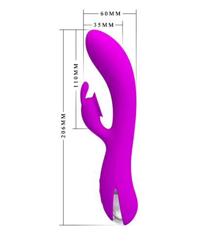 Silikonski roze vibrator