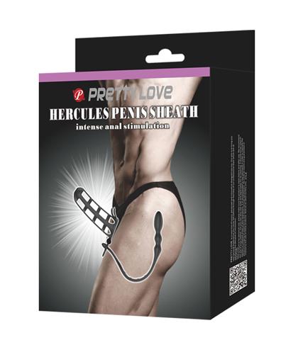 Navlaka za penis i masazer prostate