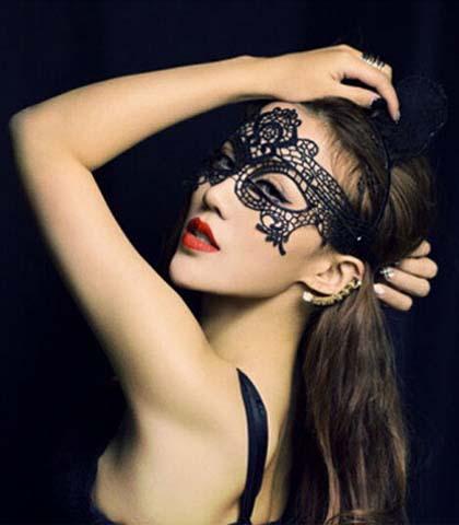 Maska za lice CRNA I BELA
