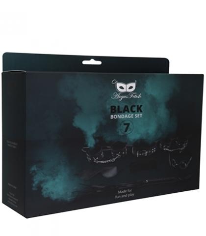 Set za vezivanje u crnoj boji