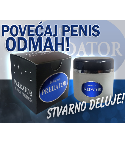 Predator krema za povecanje penisa