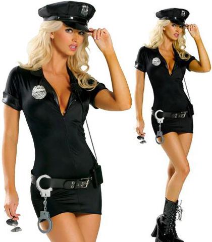 KOSTIM SEXY POLICAJKA