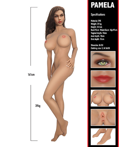 Erotska lutka u prirodnoj veli?ini Pamela