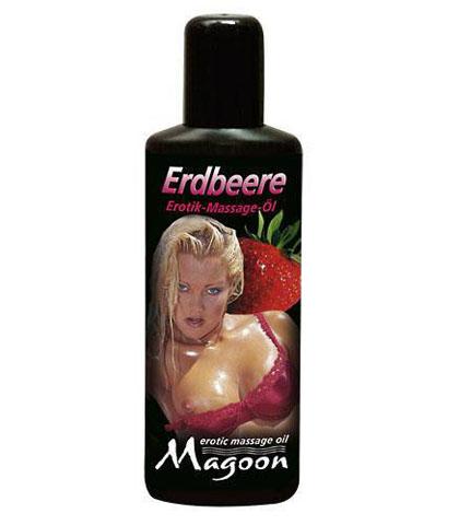 Ulje za masazu sa ukusom jagode 100 ml