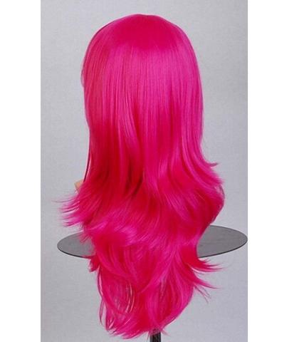 crveno-pink duga perika