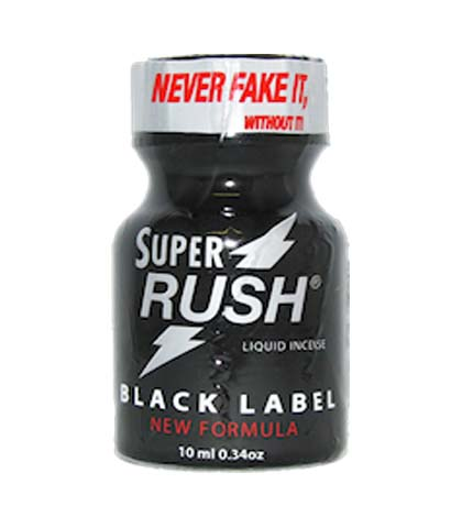 POPPERS SUPER RUSH-CRNI 10 ML