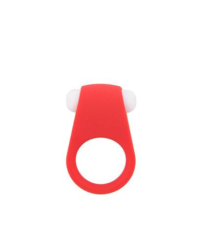 Vibrirajuci prsten u crnoj i crvenoj boji