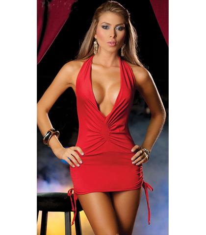 Sexy haljina u crvenoj boji